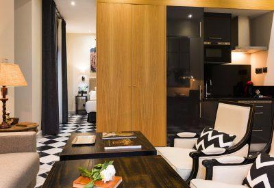 Suite 15 salón y dormitorio