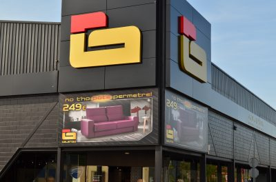 Galerías, sofàs i descans a Girona