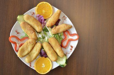 Fingers de pescado